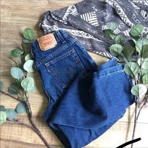 Levi's | 550 Vintage High Waisted Mom Jeans P199